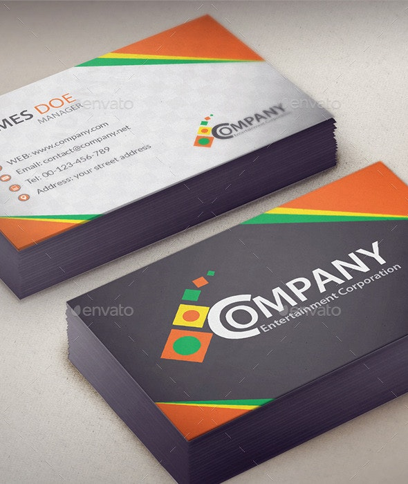 Corporate Business Card V1 - Corporate Business Cards