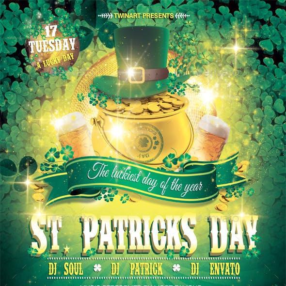 Saint Patricks Day Green Flyer