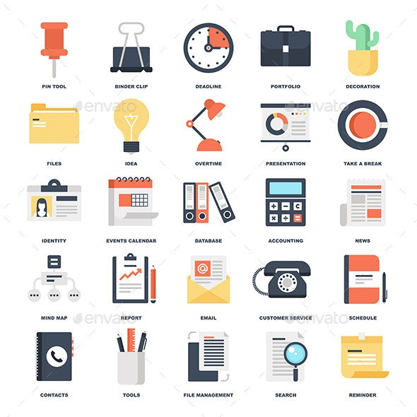 Office Icons - Business Icons