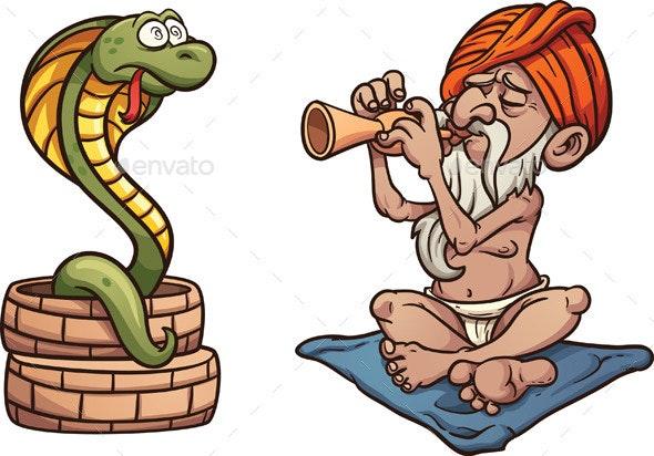 Snake Charmer by memoangeles | GraphicRiver
