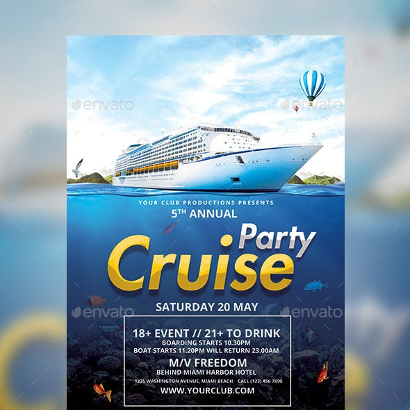 Cruise Party Template