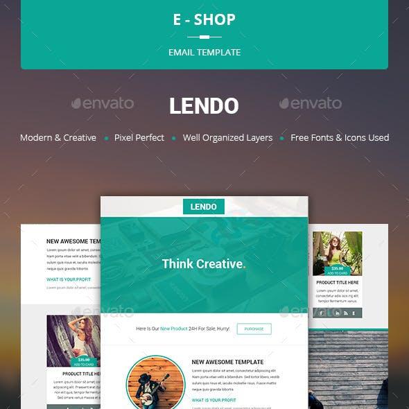 Lendo - E-shop Template