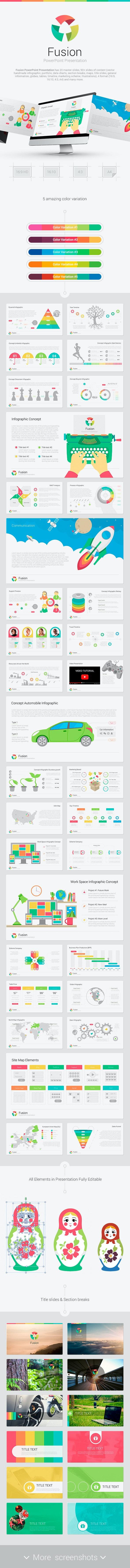 Fusion PowerPoint - Creative PowerPoint Templates