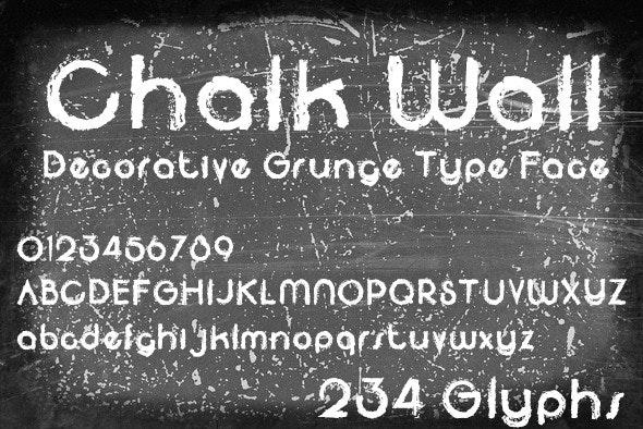 Chalk Wall