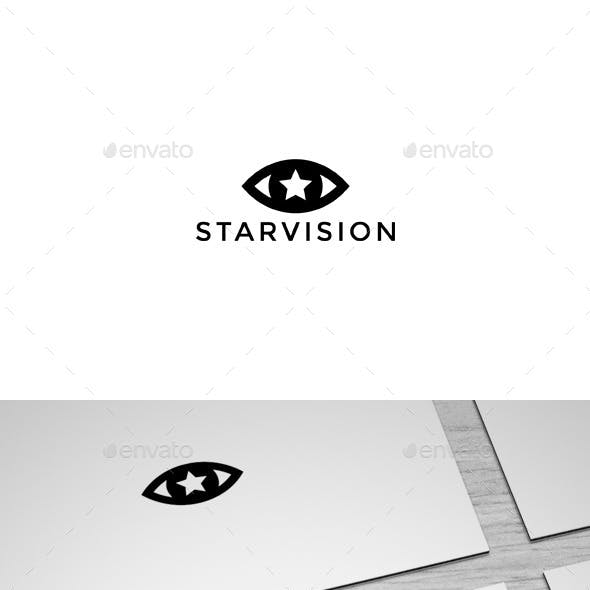 Starvision Logo Template