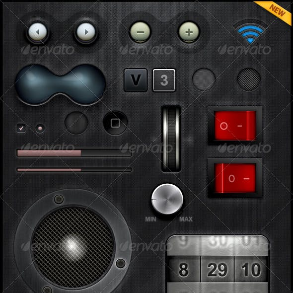 Tablet/Phone User Interface Professional Set V.3