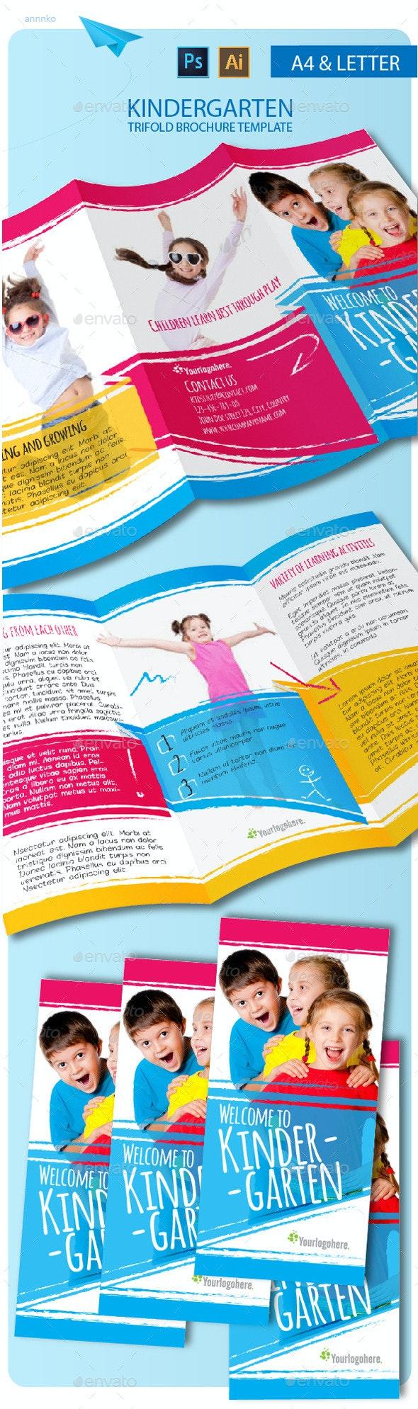 Tri-fold Kindergarten Brochure - Informational Brochures