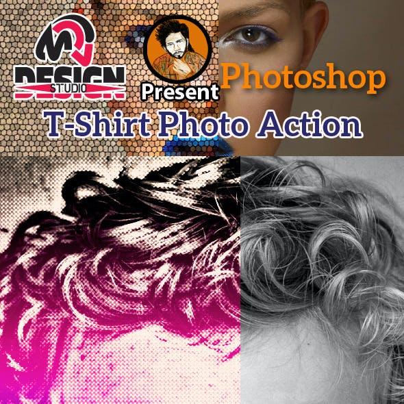 T-Shirt Photo Action