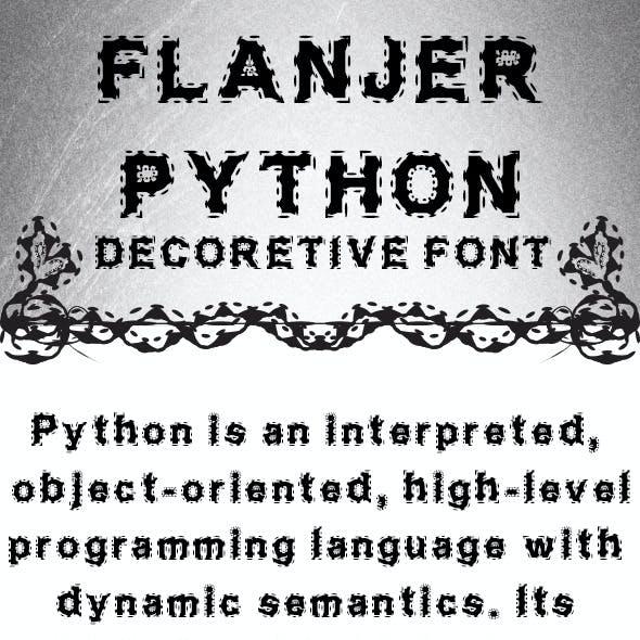 Flanjer Python