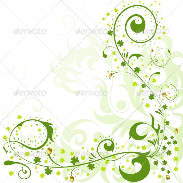 St. Patrick Day border - Miscellaneous Seasons/Holidays