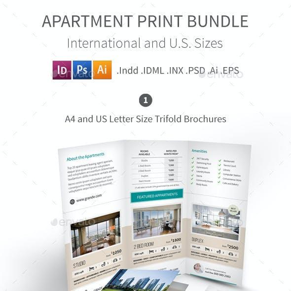 Apartment Real Estate Print Bundle