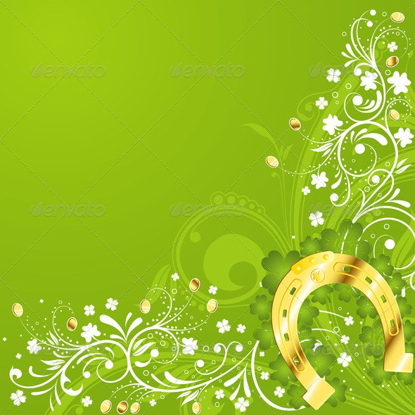 St. Patrick Day frame - Miscellaneous Seasons/Holidays
