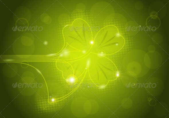 St. Patrick's Background - Miscellaneous Seasons/Holidays