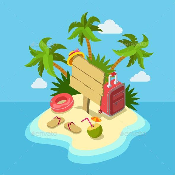 Tropic Island Beach