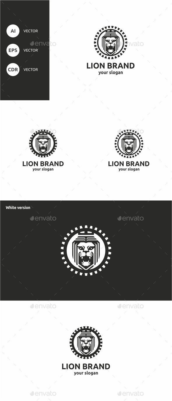 Lion Brand  - Animals Logo Templates