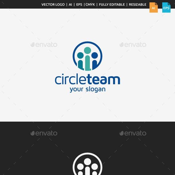 Circle Team Logo Template