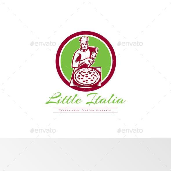 Little Italia Pizza Logo