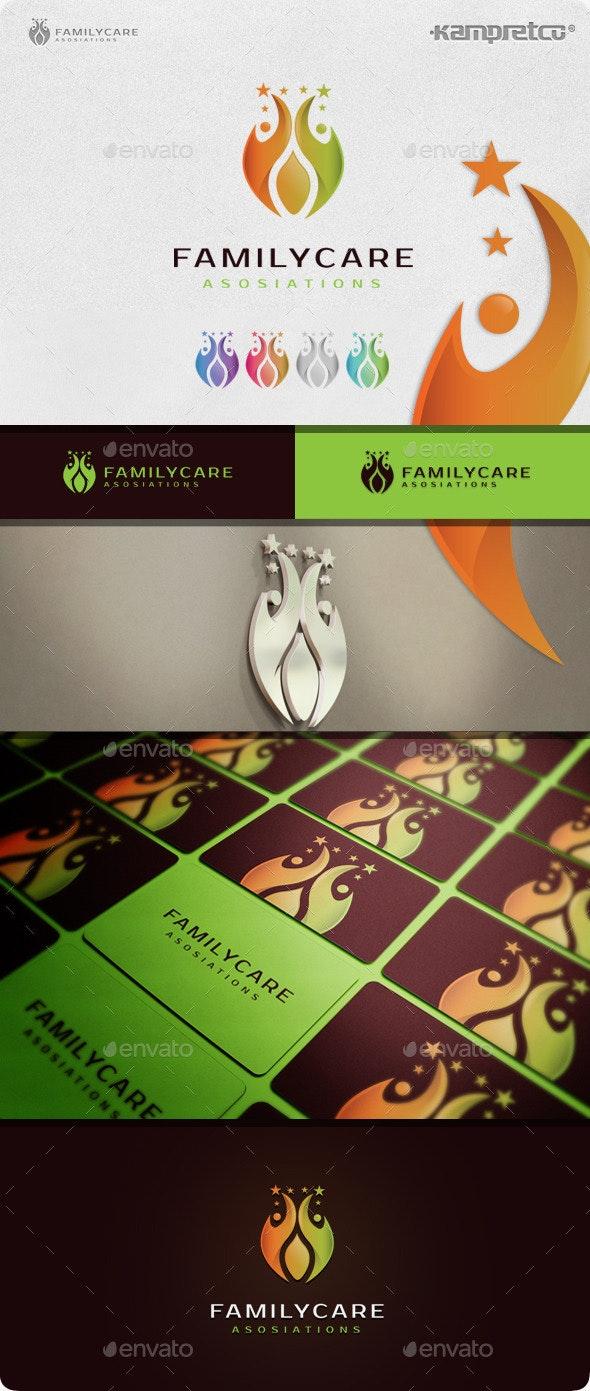 Family Care Logo - Humans Logo Templates