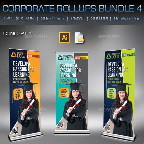 Corporate Business Rollups Bundle 4