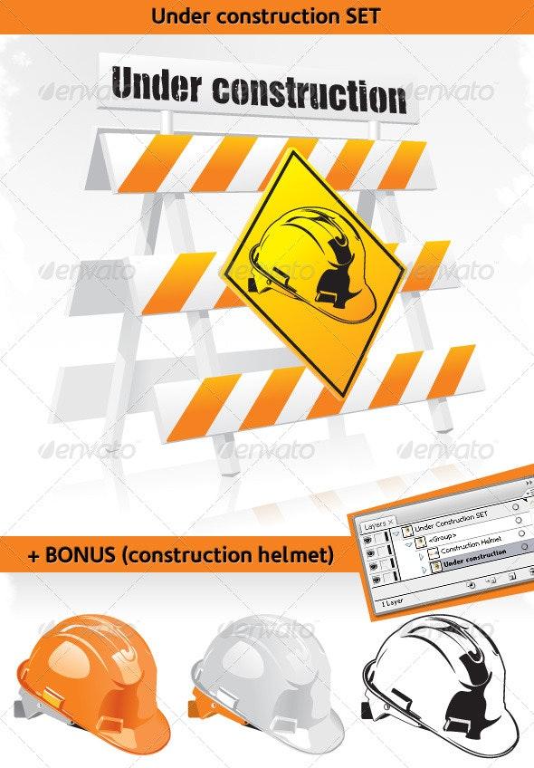 Under construction - Objects Vectors