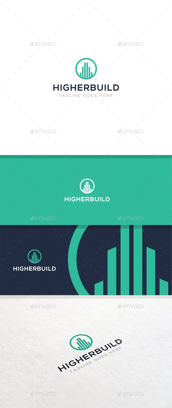 HigherBuild - Logo Template