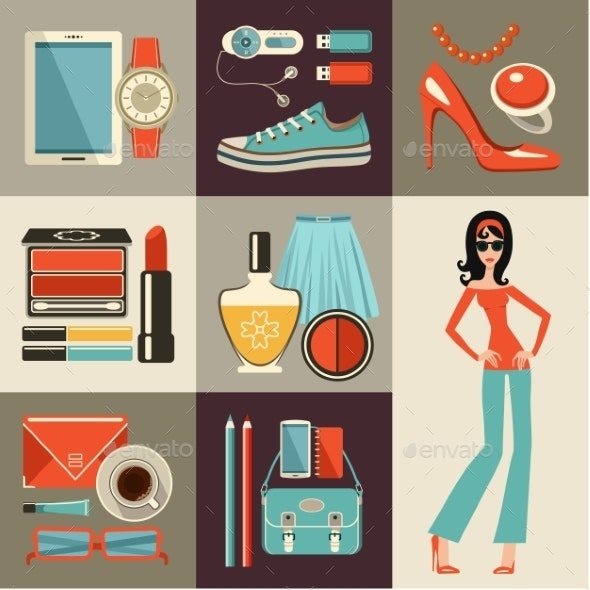 Fashion Set  - Retail Commercial / Shopping