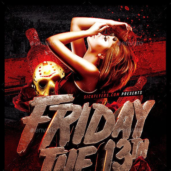 Friday 13th Flyer