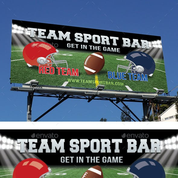 Football Game Night Outdoor Banner 41