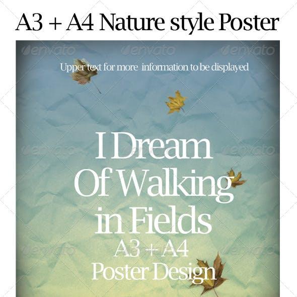 Nature/ Autumn Style Poster
