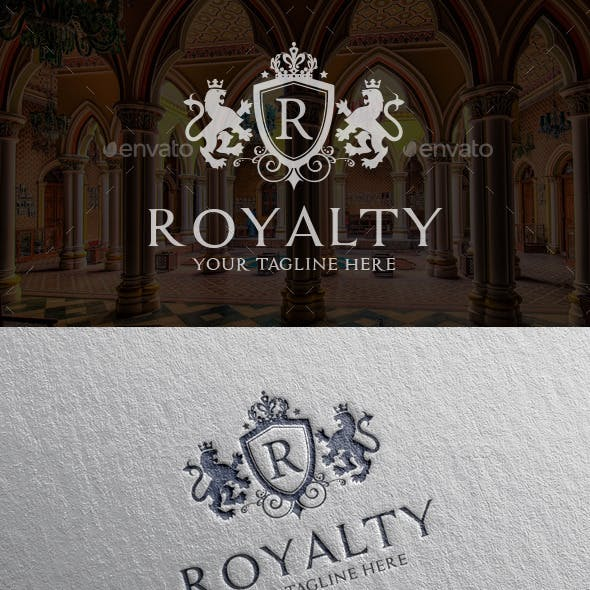 Royalty Lion Logo