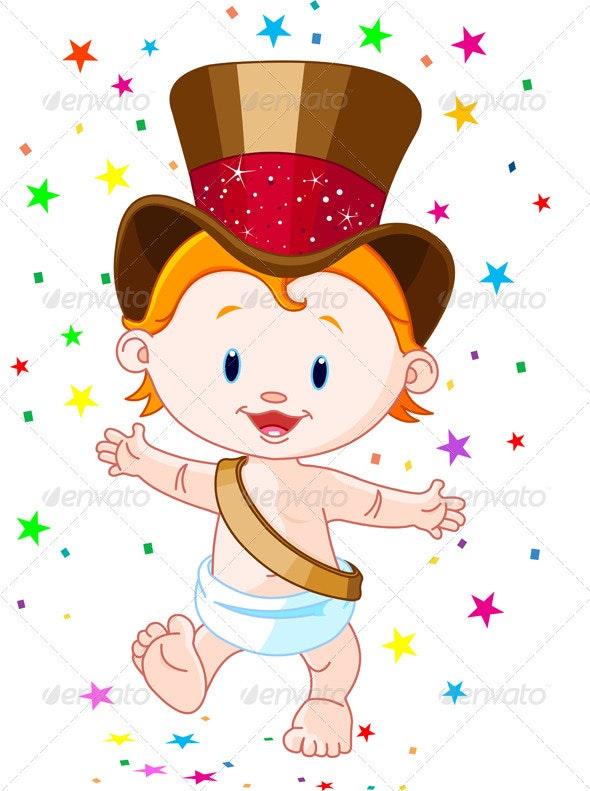 New Year baby - New Year Seasons/Holidays