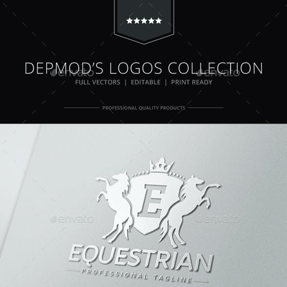 Equestrian Crest Logo