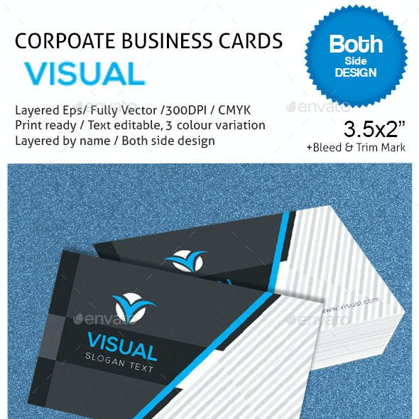 VISUAL Corporate Business Cards
