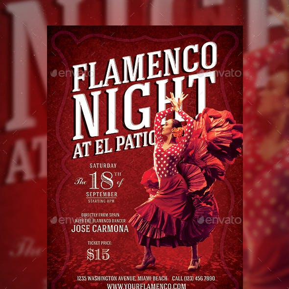 Flamenco Night Flyer