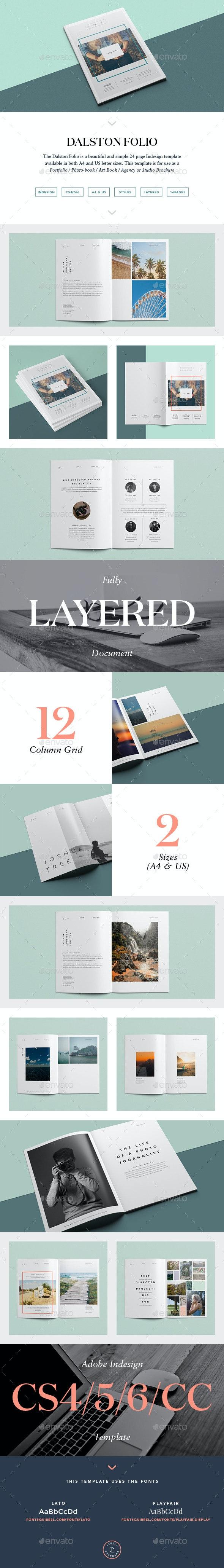 Dalston Photofolio  - Portfolio Brochures