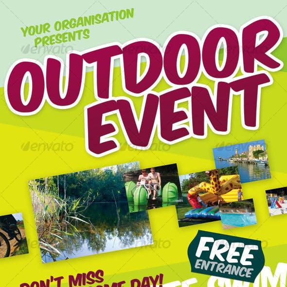 Outdoor Event Flyer