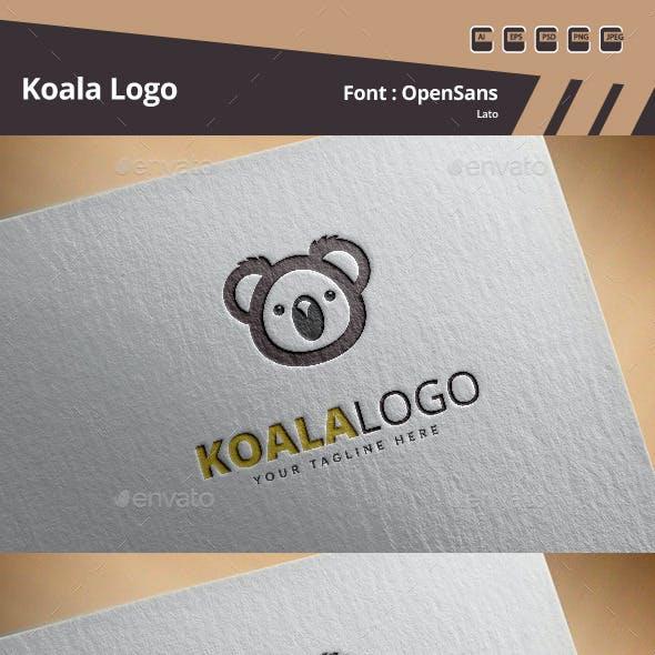 Koala Logo Template