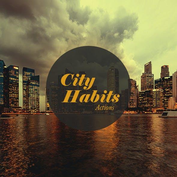 City Habits Actions