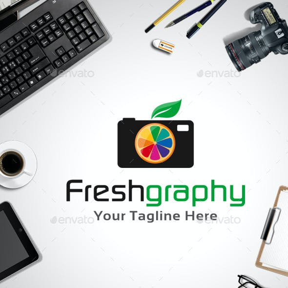 Fresh Graphy Logo Template