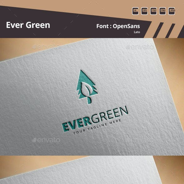 Evergreen Logo Template