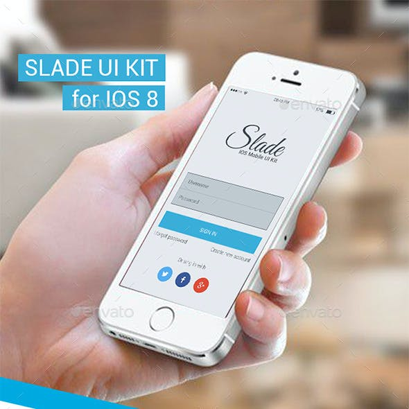 Slade UI Kit For IOS 8