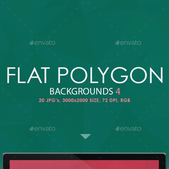 Flat Polygon Backgrounds 4