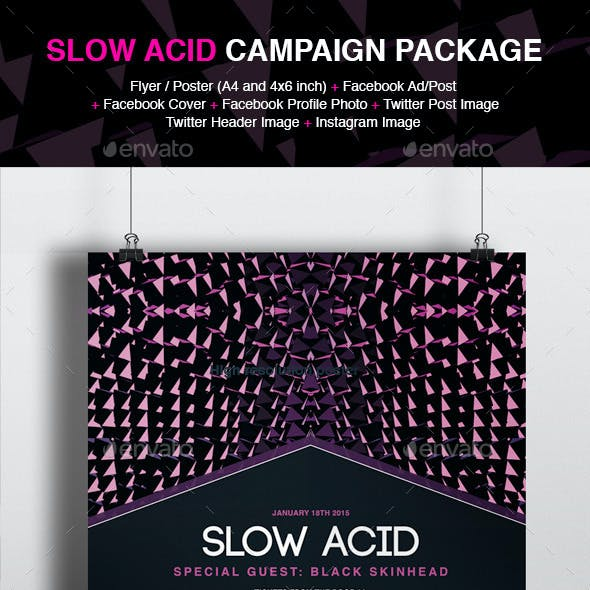 Slow Acid Event Campaign Package