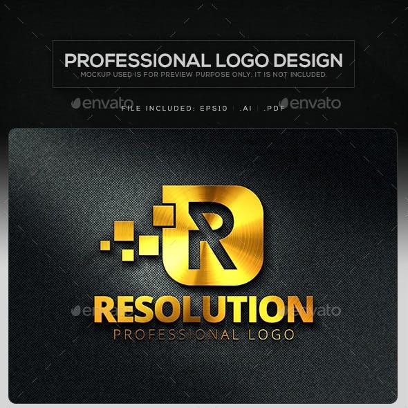 Resolution Logo Template