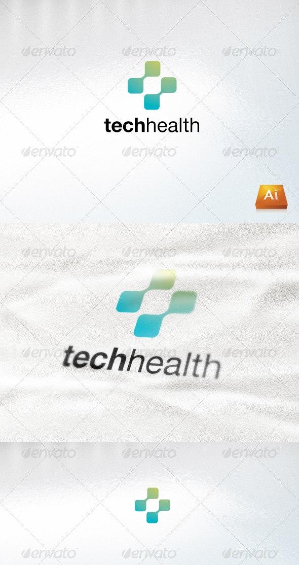 techhealth - Abstract Logo Templates