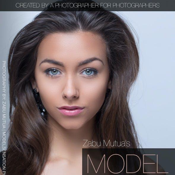 Model Skin Retouch