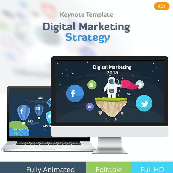 Digital Marketing Strategy - Keynote Template