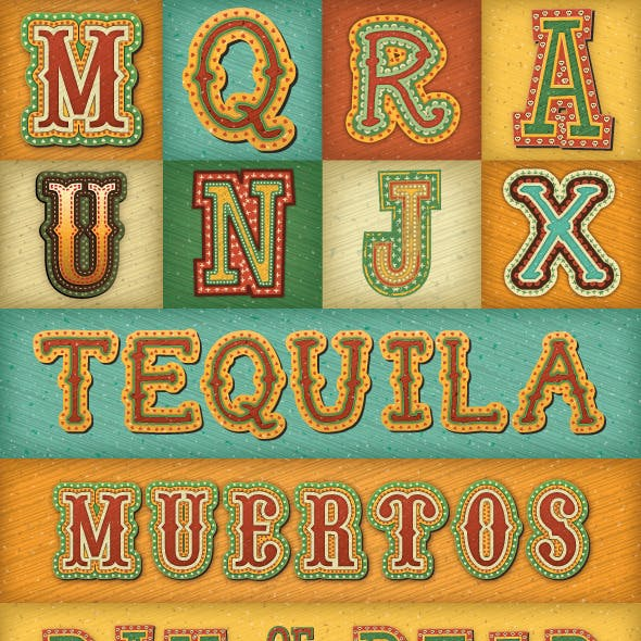 Mexican Text Styles