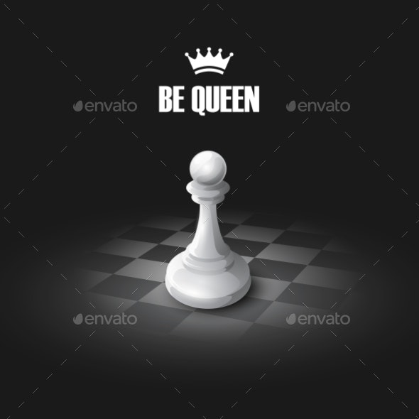 Chess Concept  - Objects Vectors