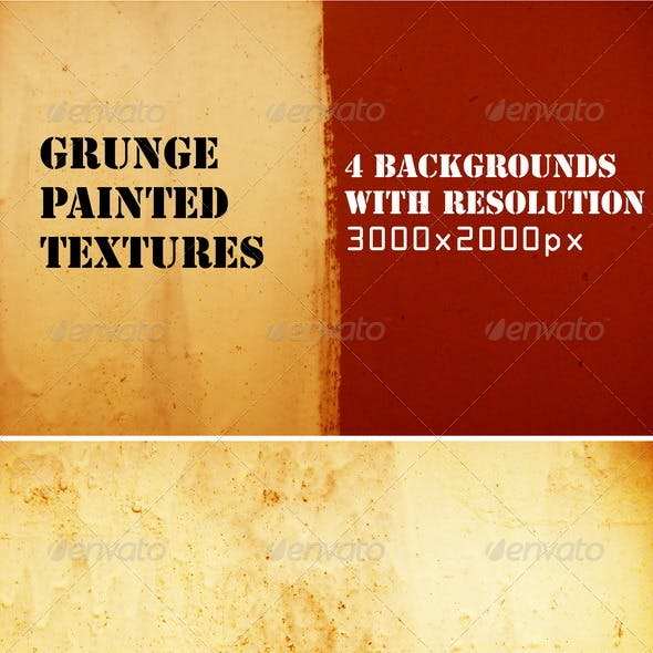Painted textures set